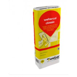 Webercol Classic Branco de 25 Kg