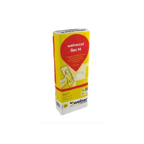 Cola Webercol Flex M Branco de 25 Kg