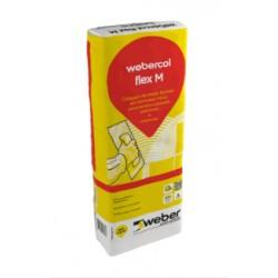 Cola Webercol Flex M Cinza de 25 Kg