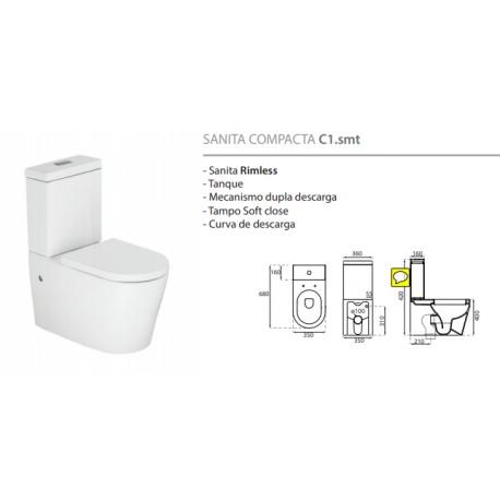 Sanita Rimless Compacta C1.smt - Pack