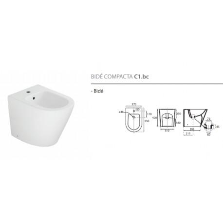 Bidé Compacta C1.bc