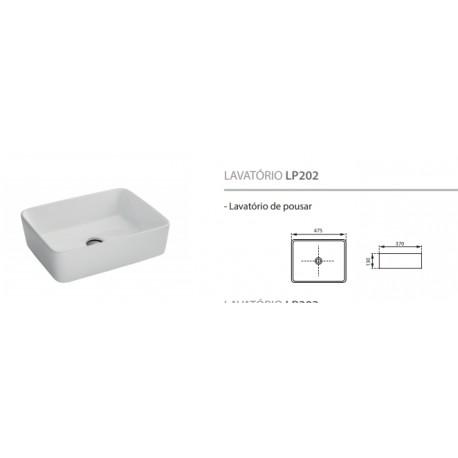 Lavatório de pousar LP02
